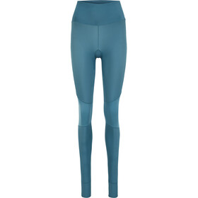 Skins Series-5 Compression Long Tights Women, petrol